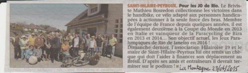 Saint-Hilaire-Peyroux Mathieu Bosredon pour les J.O. de Rio 001.jpg